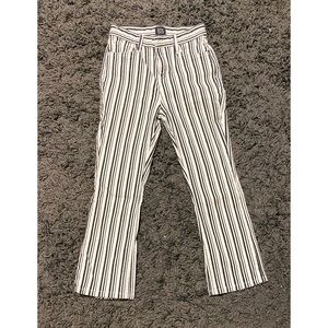 BDG Striped Ankle Jean